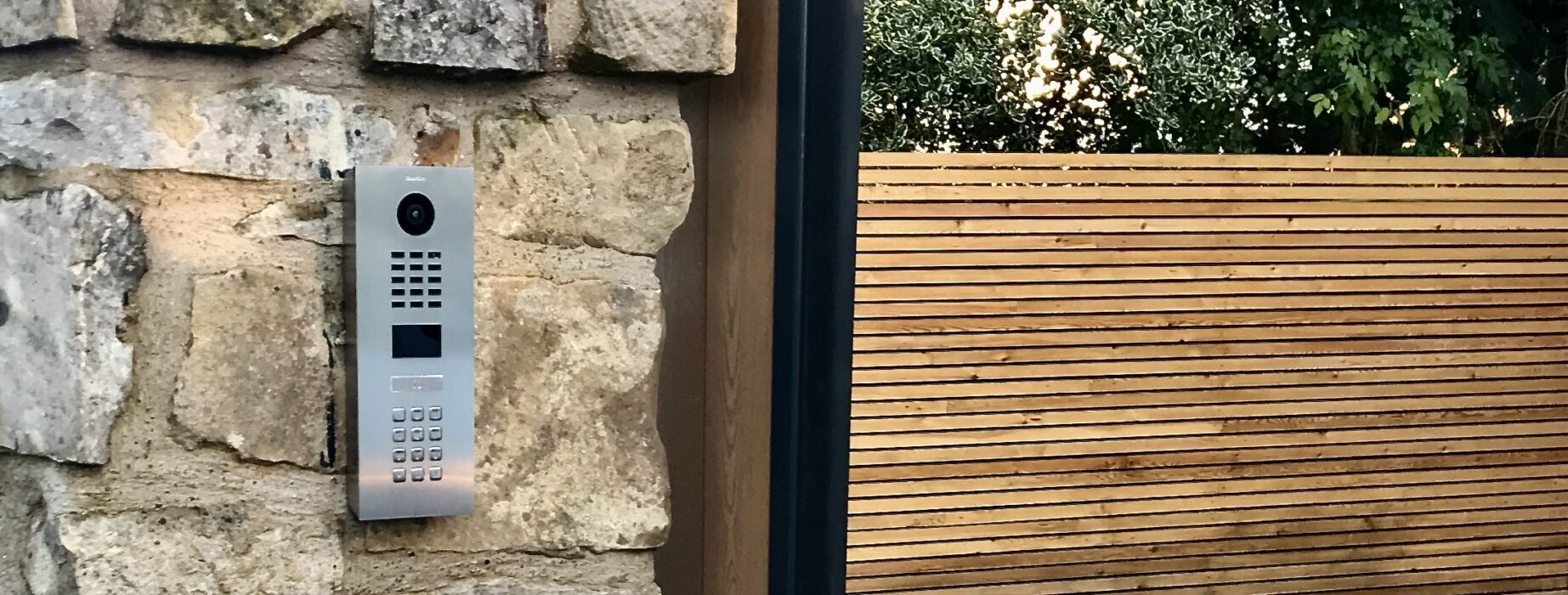 AES (SCOTLAND) LTD installed DoorBird Intercom