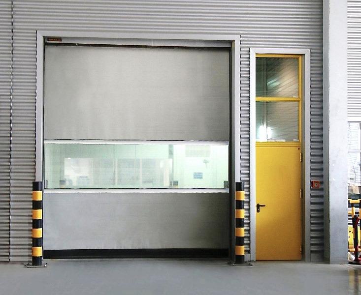Fast Acting Rapid Roll Industrial Door