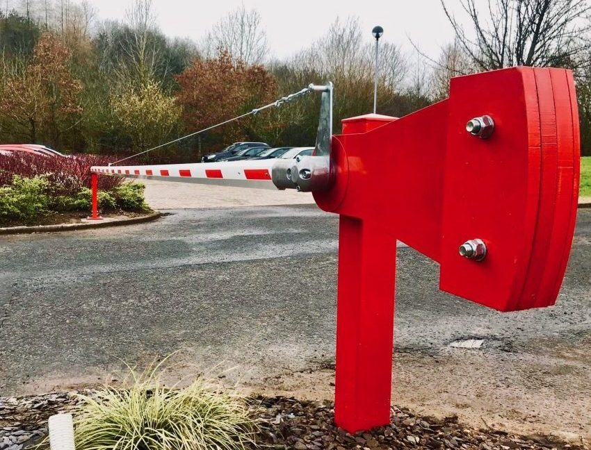 Manual Car Park Barrier installed in Glasgow