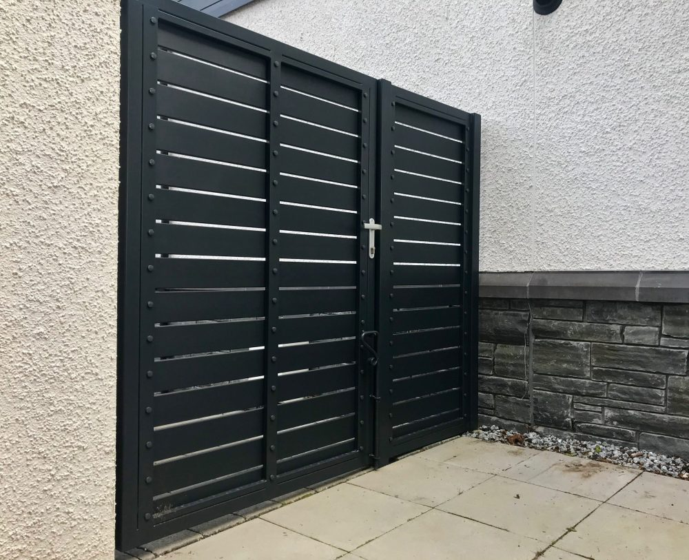 Aluminium Pedestrian Gate installed in Perth