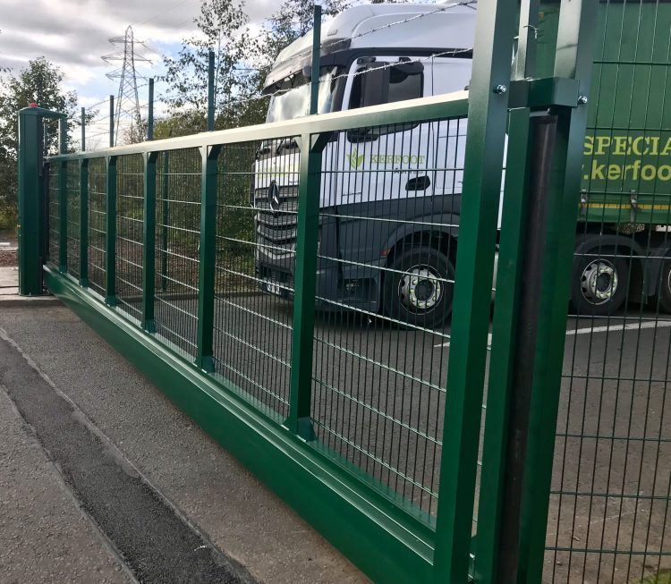 Industrial Gates Installed in Bathgate Scotland