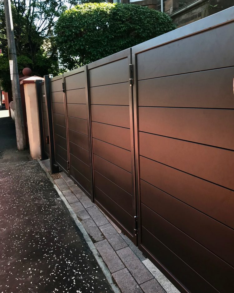 Automatic And Electric Driveway Gates Edinburgh Glasgow