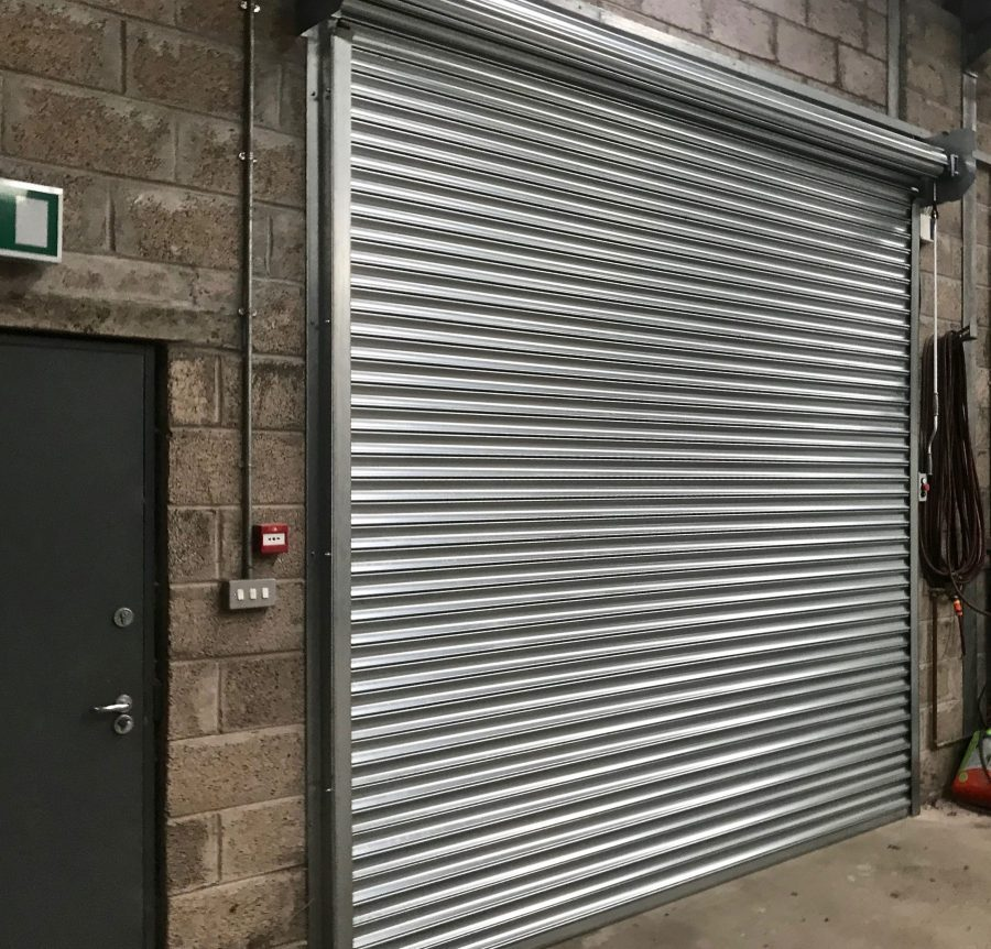 Industrial Roller shutter Door installed in Stirlingshire