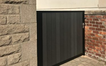 Composite Side Gate installed in Edinburgh
