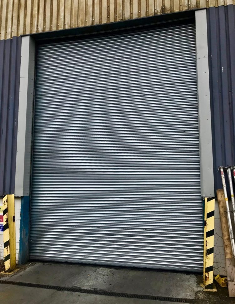 Replacement Roller Shutter Door Installed in Edinburgh