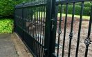 Automatic metal driveway gates installed in Killearn
