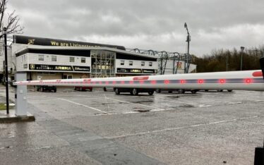 AES (SCOTLAND) LTD installed Automatic Car Park Barriers for Livingston Football Club