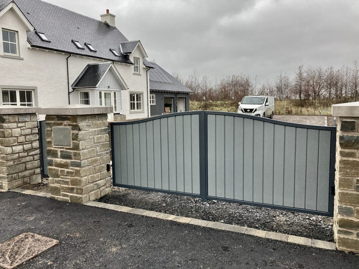 AES (SCOTLAND) LTD recently installed automatic driveway gates Perth