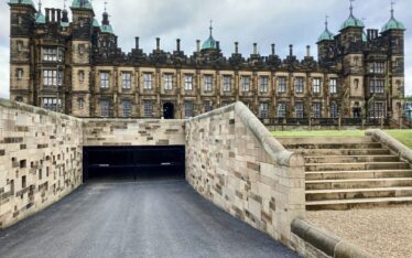 AES (SCOTLAND) LTD recently installed second set of automatic gates for City & Country's The Playfair at Donaldson's Edinburgh